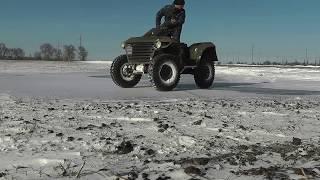 getlinkyoutube.com-Самодельный квадроцик. Homemade ATV. Продается.