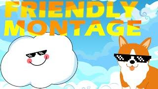 getlinkyoutube.com-I'm friendly boyz   H1Z1 Montage