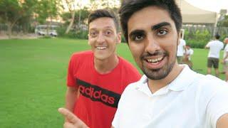 getlinkyoutube.com-Mesut Ozil - Cross Bar Challenge in DUBAI !!!