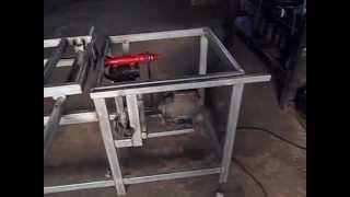 fabricando uma esquadrejadeira na oficina Bom Jesus por Josinei 1ªparte