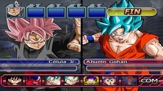 getlinkyoutube.com-Dragon Ball Z Budokai Tenkaichi 3 - Black Goku SSJ Rose VS Vegeta SSGSS & Goku SSGSS RP (1080p)