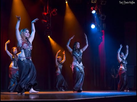 Sharon Kihara performs Tribal Fusion Bellydance at The Massive Spectacular!