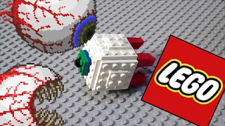getlinkyoutube.com-LEGO How to Build - Terraria: Eye of Cthulhu and The Twins