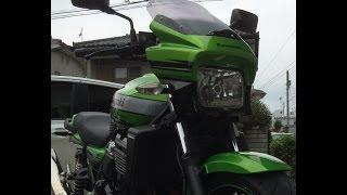 getlinkyoutube.com-ZRX1200 DAEG HID化  取り付け動画
