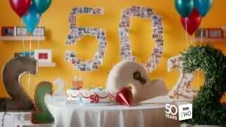 BBC Two - 50th Anniversary (cake)