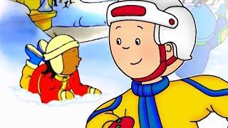 getlinkyoutube.com-Cartoon | Caillou English Full Episodes - Caillou's Holiday 🎄 | NEW