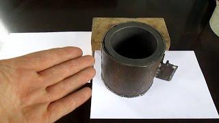 getlinkyoutube.com-Как сделать тигель, для получения золота из камней