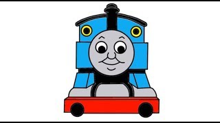 getlinkyoutube.com-Itsy Artist - How To Draw Thomas The Tank Engine From Thomas And Friends Episodes In Full