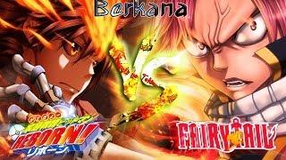 getlinkyoutube.com-Natsu dragneel VS Sawada Tsunayoshi [Katekyo hitman reborn vs Fairy tail] By Berkana (Mugen)