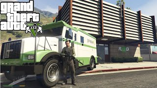 getlinkyoutube.com-GTA V Mods - Roubo a banco / Bank Robbery  mod