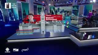 CBC Augmented Reality Broadcast with Stype and Vizrt