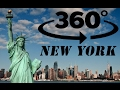 360 Tour Of New York City in 4K