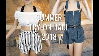 Huge Summer Try-On Haul 2018 | Hannah Blair width=