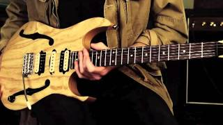 Paul Gilbert on the design and features of his Ibanez PGM80P Signature guitar
