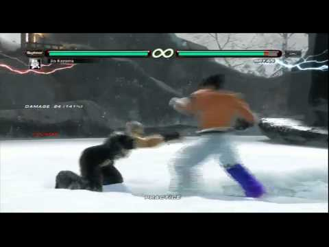 TEKKEN 6 - Jin Combo Exhibition 1