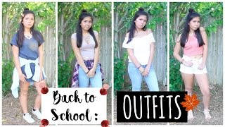 BACK TO SCHOOL OUTFITS ♡