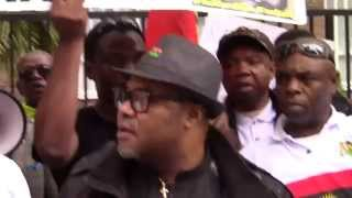 getlinkyoutube.com-Biafra Restoration, Nnamdi Kanu's Arrest: IPOB Protest @ Nigerian Embassy Spain