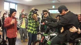 getlinkyoutube.com-FMXライダー 佐藤英吾さん お別れセレモニー 青山葬儀場  2013/3/17 eigo sato owakare ceremony