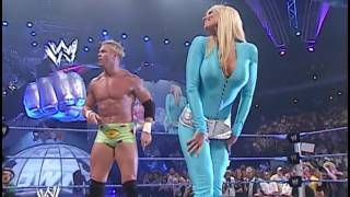 Billy Gunn spanks hot Torrie Wilson 12 6 2003