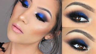 getlinkyoutube.com-Bold Blue Eye  Makeup I Urban Decay X Gwen Stefani Palette
