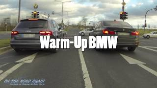 getlinkyoutube.com-Audi A4 3.0TDI quattro vs BMW 335d xDrive (F30)