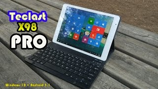getlinkyoutube.com-Teclast X98 Pro - Una de las tablets más potentes del mercado [Android 5.1 y Windows 10]