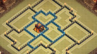 Clash of Clans: TH 9 AIR SWEEPER War Base  Update ll READ DESCRIP ll Early May 2015 Edition