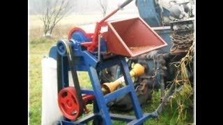 getlinkyoutube.com-Rozdrabniacz Rębak do drewna gałęzi - Wood Chipper 2012 własnej produkcji samoróbka