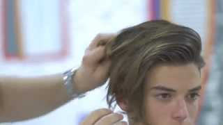 getlinkyoutube.com-Luca Fersko Haircut feat Hanz De Fuko - TheSalonGuy