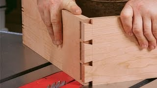 getlinkyoutube.com-How to Cut Dovetails on a Tablesaw