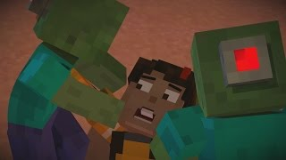 getlinkyoutube.com-Minecraft: Story Mode - All Deaths and Kills Episode 7 60FPS HD
