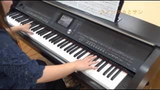 getlinkyoutube.com-アシタカとサン(美しく響くピアノソロ(上級) スタジオジブリ作品集1[GTP01090843]より)