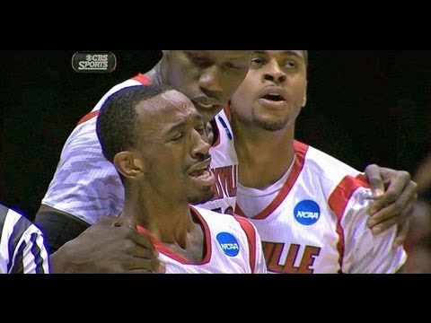 Louisville's Kevin Ware Terrible Leg Injury HD -ChHxROs9G-g