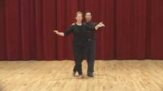 Bronze Cha Cha - The Sweetheart with Fan Ending Ballroom Dance Lesson