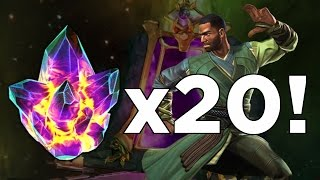 getlinkyoutube.com-Opening 20x Mordo + Ghost Rider Crystals! - Marvel Contest of Champions Crystal Opening
