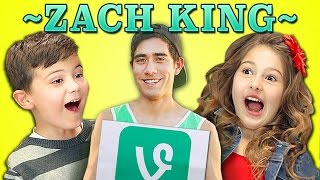 getlinkyoutube.com-KIDS REACT TO ZACH KING VINES