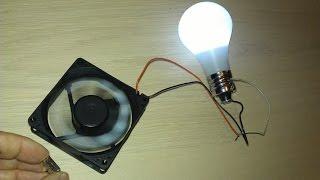 getlinkyoutube.com-طريقة الحصول على طاقة مجانية مغناطيسية بمروحة الحاسوب !