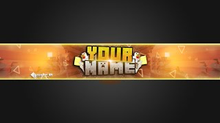 getlinkyoutube.com-[FREE] Minecraft Banner Template | ~ By UniqueFX | 250 Sub Special