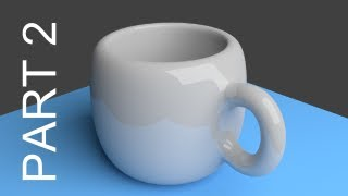 Blender Tutorial For Beginners: Coffee Cup - 2 of 2