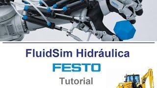 getlinkyoutube.com-FluidSim Hidráulica - Tutorial - Parte 1