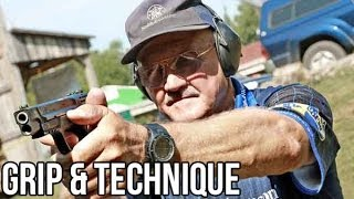 getlinkyoutube.com-How to shoot a Pistol with world champion shooter, Jerry Miculek