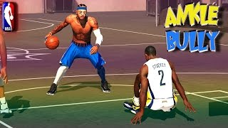 getlinkyoutube.com-NBA 2K15 MyPark 3v3 - Breaking The SAME ANKLES Twice