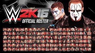 getlinkyoutube.com-WWE 2K16 Official Roster - All 126 Superstars & Divas