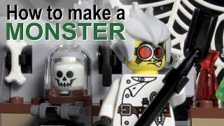 getlinkyoutube.com-How to make a monster - a LEGO ® Monster Fighters stopmotion