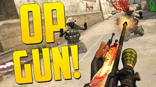 getlinkyoutube.com-MOST OVERPOWERED GUN! - CS GO Funny Moments in Competitive