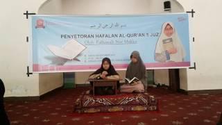 getlinkyoutube.com-FATIMAH NUR MAKKA Tasmi'kan AL Quran 5 Juz Sekaligus di Sekolah Putri Darul Istiqamah Maros