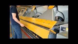 getlinkyoutube.com-Plieuse hydraulique grandes longueurs  H+