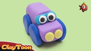 Car - Polymer clay tutorial | سيارة - تشكيل صلصال
