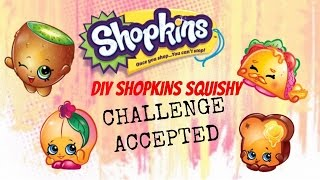 getlinkyoutube.com-Mission Impossible DIY SHOPKINS SQUISHY Challenge ACCEPTED