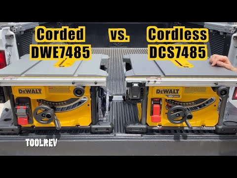 Difference between the Corded and Cordless 7485 Youtube Thumbnail